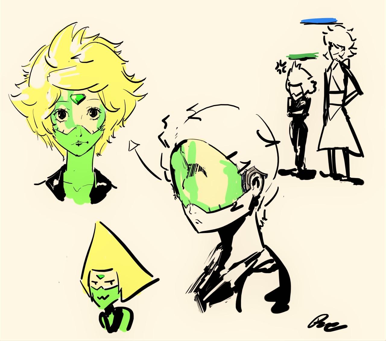 Quick doodles.