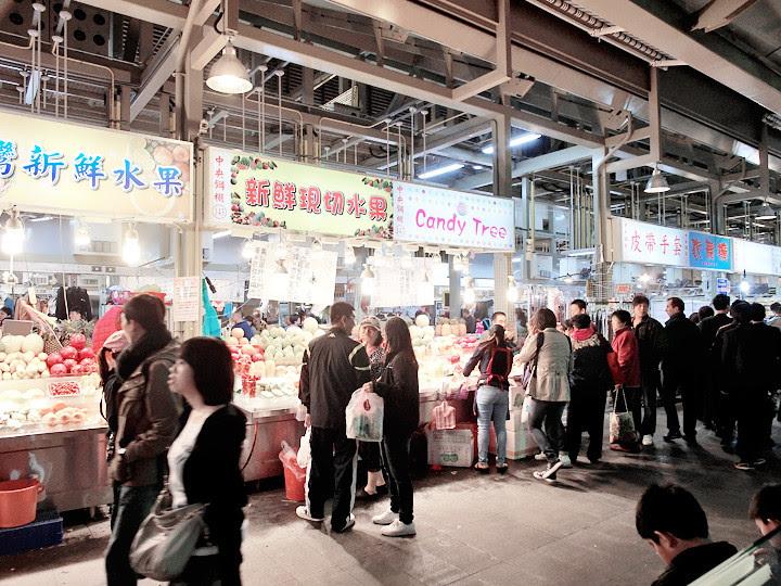 Shilin Night Market sheltered area
