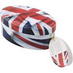 Union Jack Flag Vanilla Fudge Gift Tin | The Scottish Grocer