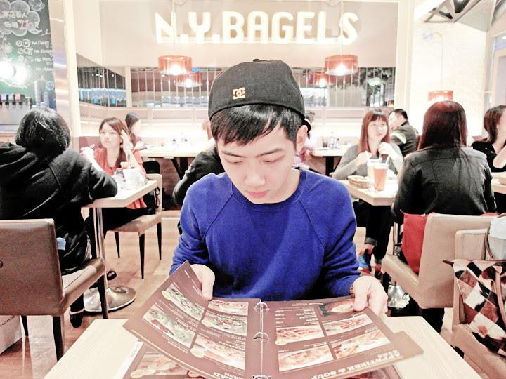 randy at  N.Y. Bagels Cafe