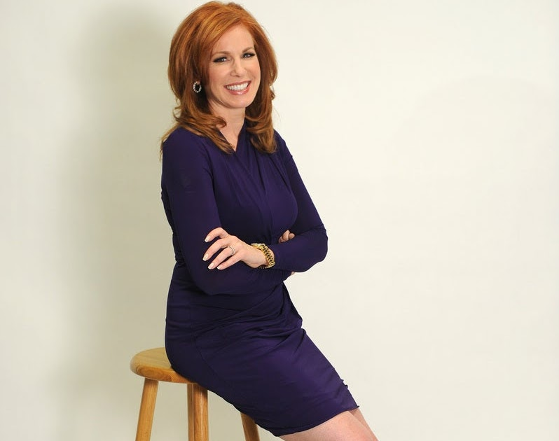 Liz Claman American Anchor And Television Host Very Hot -5790
