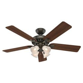 Westminster 5 Minute Fan New Bronze Indoor Ceiling Fan with Light Kit