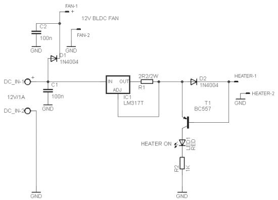 smoke generator circuit