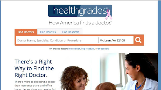 New doctors site rates for experience, quality