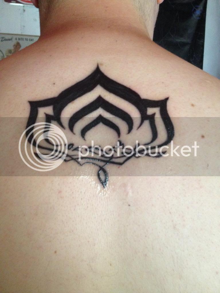 Warframe Tattoos Fan Art Warframe Forums