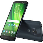"Motorola Moto G⁶ Play 32 GB Smartphone - 5.7"" HD+ - 3 GB RAM - Android 8.0 Oreo - 4G - Deep Indigo - Bar - 128 GB microSD Support - SIM-free - 5"