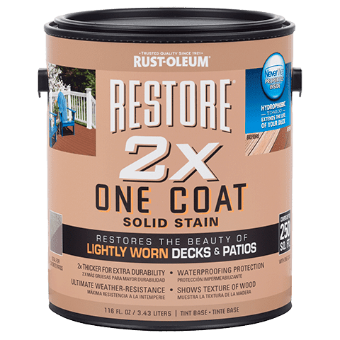 Restore 2X One Coat Solid Stain