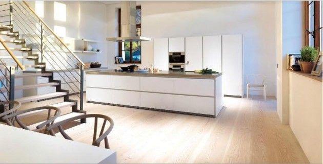 Diseños de Cocinas Blancas 3 Atractivos Diseños de Cocinas Blancas
