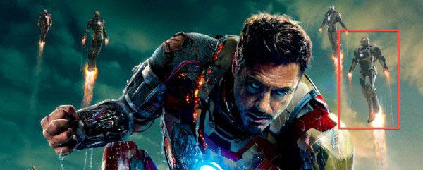 Another glimpse of the Deep Space Armor in the IRON MAN 3 theatrical poster.