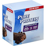 Pure Protein Protein Bar, Chewy Chocolate Chip, Value Pack - 12 pack, 1.76 oz bars