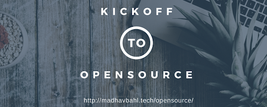 KickOff To Open Source! – Hacker Noon