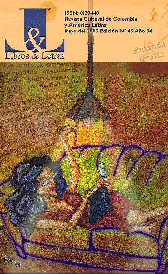 Ilustración y diseño de Hache Holguín para Libros y Letras