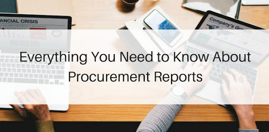 Everything You Need to Know About Procurement Reports