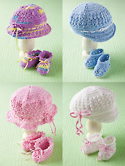 Baby Hats & Booties - Electronic Download