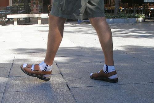 Las sandalias del Teutón