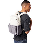 Alternative Retro Computer Backpack OS Natural & Grey
