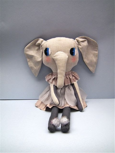 cloth and thread la troupe dolls | #dolls #decoration #doll #kids #elephant #graylabel #graylabelkids