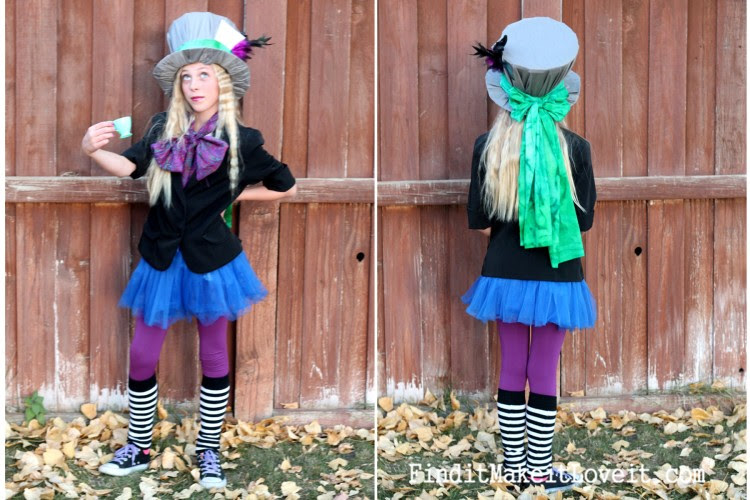 Diy Mad Hatter Costume Girl Viki Costume Girl Collection