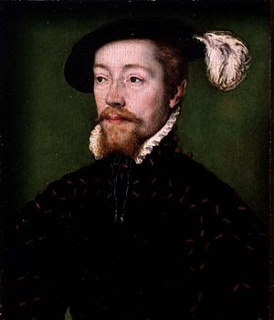 Portrait of James V of Scotland (1512 - 1542)