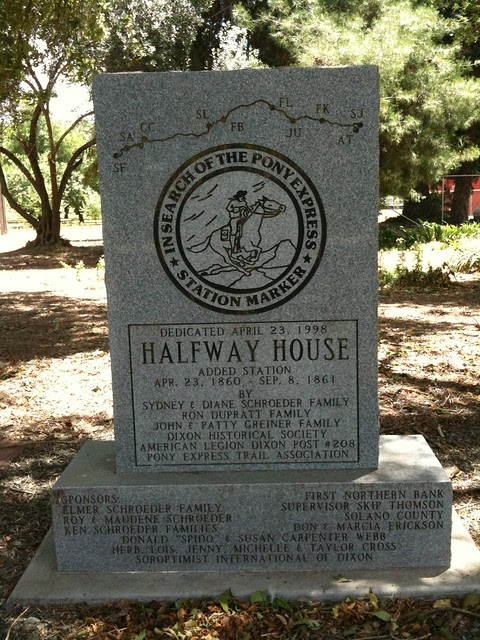 Halfway House Pony Express Station