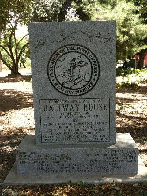 Halfway House Pony Express Station