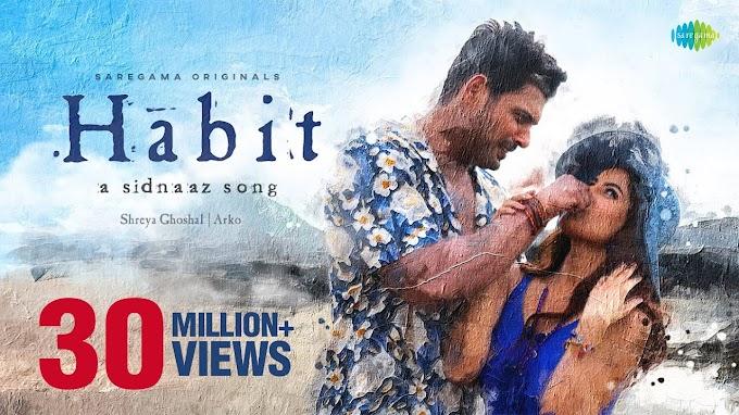 Habit Lyrics - Shreya Ghoshal, Arko, and Khalid Sharif