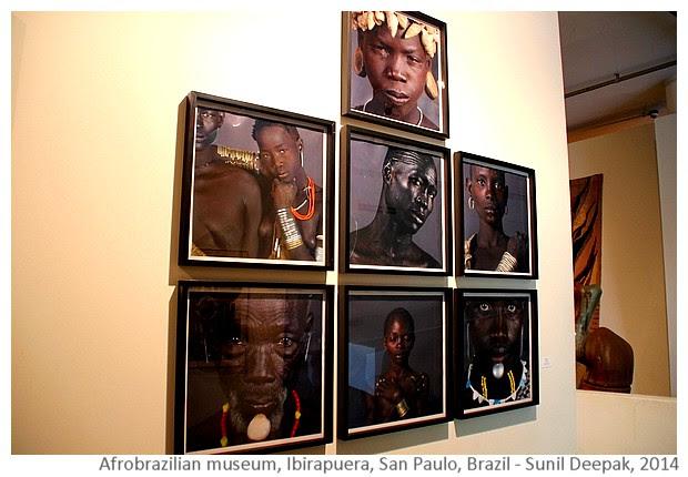 Munoz pictures, Afro-Brazilian museum, San Paulo, Brazil - Images by Sunil Deepak, 2014