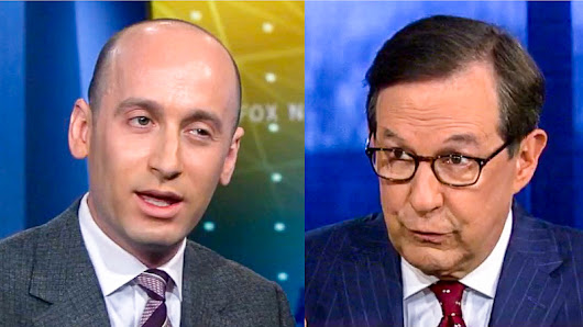 Chris Wallace Smacks Down Stephen Miller For Immigration Lies: 'It's Always A Challenge Interviewing You'