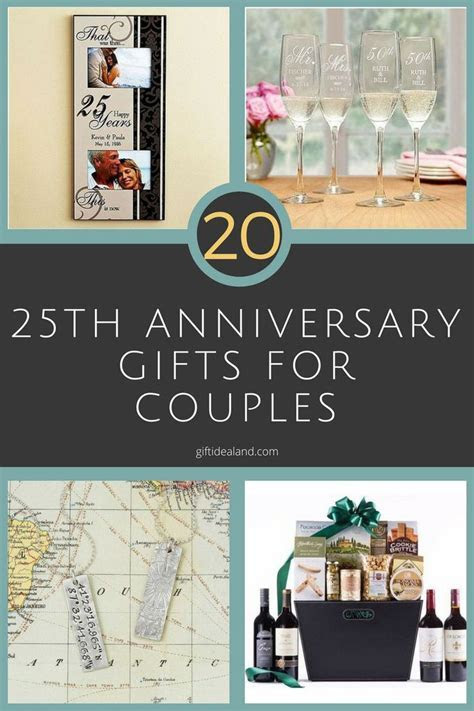 25  unique Anniversary gifts for couples ideas on