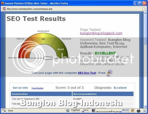Seo Tool Page Tester