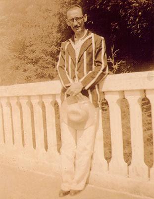 Ary Barroso (anos 40) em Poços de Caldas.