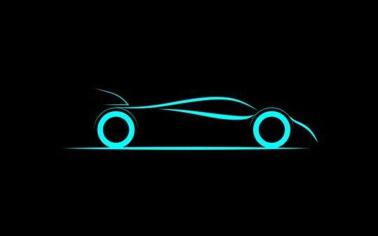 Sport car logos vectors set 03