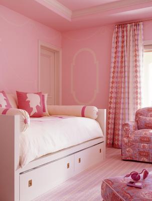 Pink Girls Bedroom