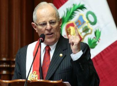 Presidente do Peru admite que ganhou 'algum dinheiro' da construtora Odebrecht