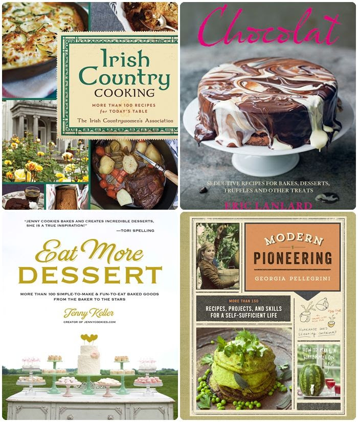 new favorite cookbooks and fiction!