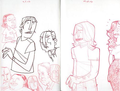 sketchdump: more people