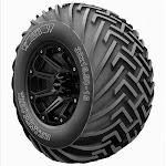 31x15.50-15 BKT Trac Master D/8 Ply Tire