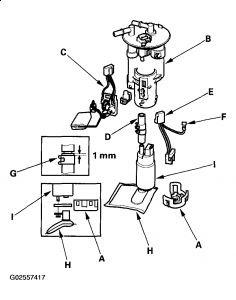 2004 Honda Odyssey Fuel Filter Location