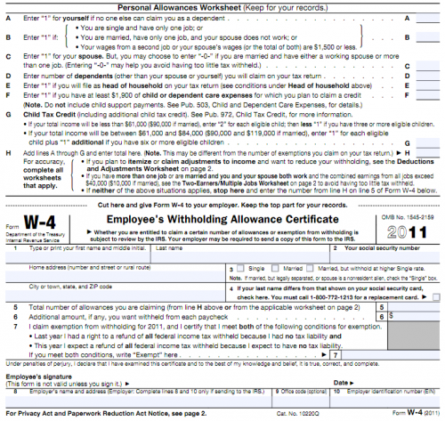 W4 Form Explained: How to Fill Out a W4 Form