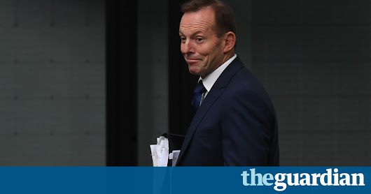 Next time you read your increased power bill, blame Tony Abbott | Matt Grudnoff | Opinion | The Guardian