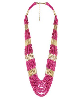 Forever21FuchsiaNecklace