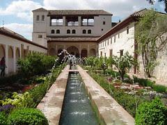 Generalife di Alhambra, Granada, Spain