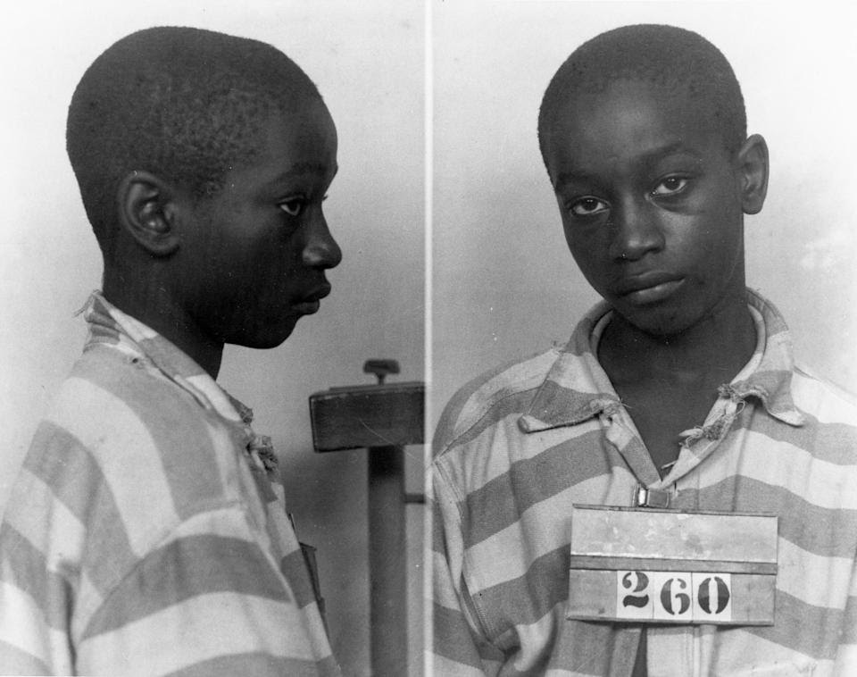 FILE - This undated file photo provided by the South Carolina Department of Archives and History shows George Stinney Jr., the youngest person ever ex...