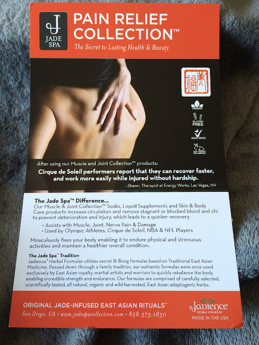 ♥ Jadience Pain Relief Collection♥