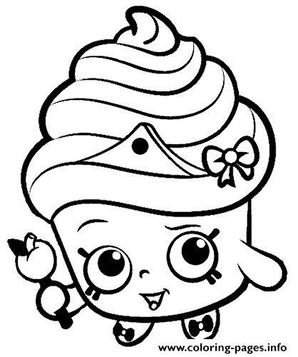shopkins for kids Coloring pages Printable
