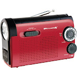 Weatherx Flashlight with AM/FM/Weather Radio WR182R
