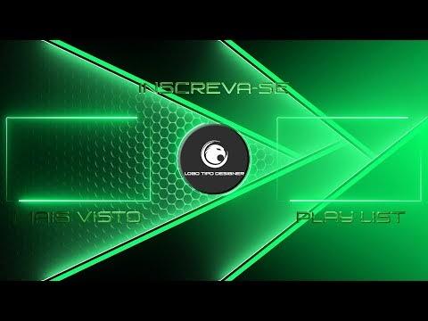 Tela Final #139 Editavel Logo Tipo Designer Tutorial no Final do vídeo