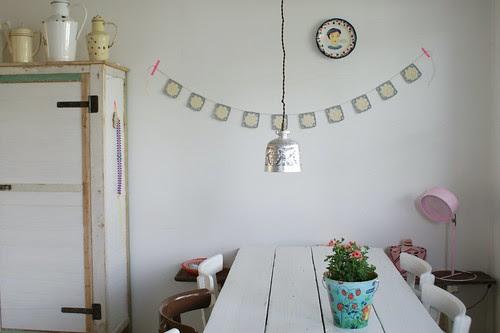 grey garland by wood & wool stool