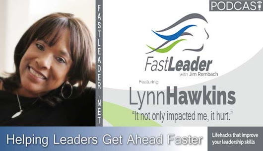 After a few months being successful in commercial real estate, Lynn Hawkin's boss told her she was too nice for sales. Listen to what Lynn did. #leadership