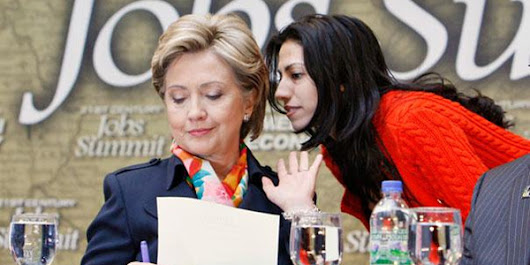 1/3 of Abedin emails 100% redacted